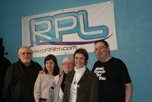 L'equipe  de cocooning interviewee à rpl